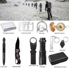 Coffret d'accessoires de survie 11 Outils